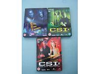 C.S.I. - Crime Scene Investigation USA (Vegas) 3 Box Sets - Season 1 (1-12), 2 (13-23), 3 (1-12)