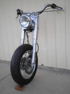 Harley Davidson 2002 completed frontend and rear wheel
