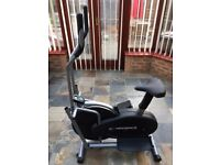 Confidence Fitness Elliptical Trainer and Exercise Bike with on board Computer.
