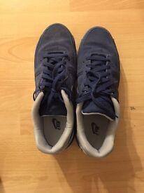 Nike blue trainers - UK size 10