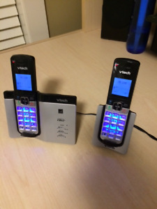 Vtech Connect to cell house phones set of 2