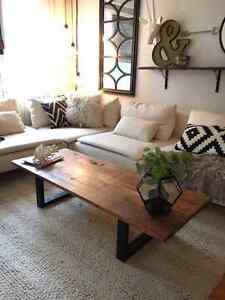 Rustic Coffee tables, headboards, console tables, shelves