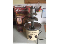 Chocolate Fountain Stainless Steel £10