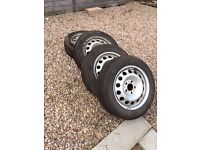 Mini Countryman / Paceman 5 Stud Wheels & Winter Tyres (Only fits 4wd models) VGC. Loads of tread