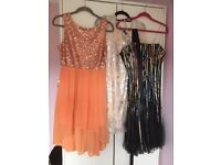 unwanted dresses and trouser suit