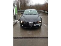 alfa romeo 159 lusso jtdm,2007,1.9 diesel.cheap,£1695,full service history,a1 in and out,long mot