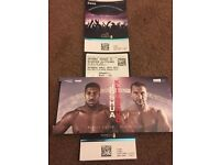 2x Anthony Joshua Tickets for upcoming fight
