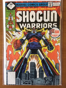 SHOGUN WARRIORS #1 comic book - 1979 - before Transformers - $20