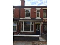 2 bed Fully Refurbished House on Westminster Street Crewe CW2