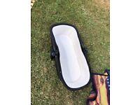 Pram Accessories - Silvercross Wayfarer - Carry Cot & Seat - Free