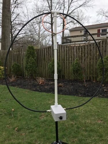 HF Magnetic Loop Antenna
