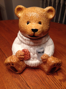 Adorable Teddy Bear Cookie Jar