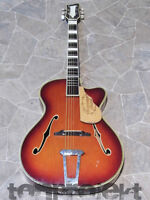 Vintage Marma Archtop Cutaway Jazz Schlag Gitarre Chitarra Germania 1960` -  - ebay.it