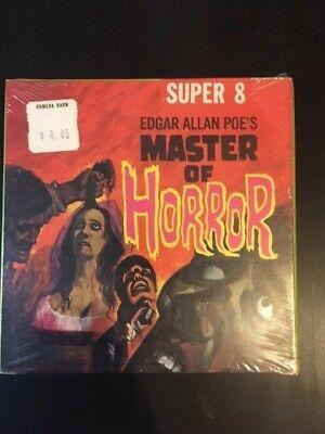 8mm Film Brand New  Master of Horror   Edgar Allan Poe