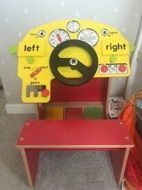 Toy Wooden Driving Centre - excellent condition