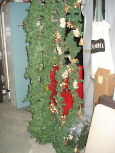 XMAS TREE-7 feet and Garlands and more