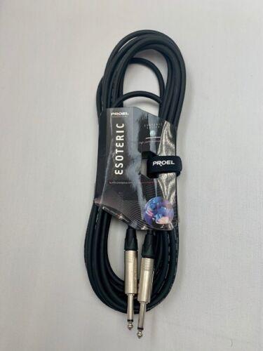 30Ft(10m)Jack Mono Lead Proel Livewire Instrument Audio Signal Cable