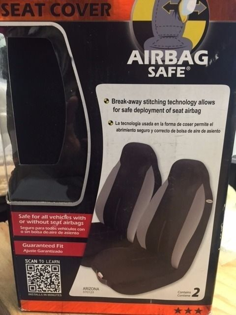 AIR BAG SAFE 370123 ARIZONA SEAT COVER (RW33C-042)