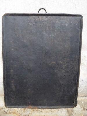 antikes Backblech Kuchenblech rechteckig 58 x 73 cm  Dekoration Werbeschild