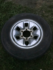 15 inch 6 bolt rims only tires no good