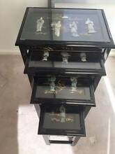 ORIENTAL BLACK LACQUERED NEST OF TABLES Claremont Nedlands Area Preview