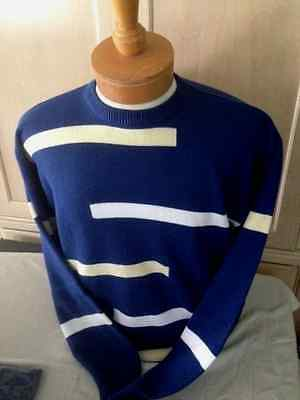 - NWT New Mens Blue Crewneck Pringle S-XL  Sweater  $90 value