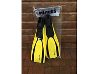 New ladies pool sea fins for snorkelling/diving, 38/39 & 36/37