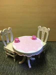 "Tea for Two  - 18"" doll table & chairs"