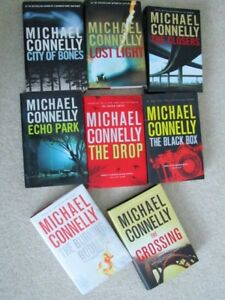 MICHAEL CONNELLY == Hardcover novels