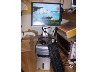 COMPUTER DELL INSPIRON 531 AMD ATHLON 64 DUAL CORE 5000 2.60 GHZ , 4GB RAM, 455GB HDD, 17 INCH SCR