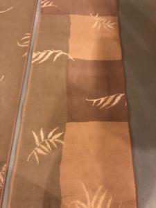 Modern area rug runner 2.6 x 7.8 feet ( 76cm x 232cm)