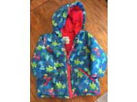 Children's coats. Sizes range from 18 mnths to 4 years.