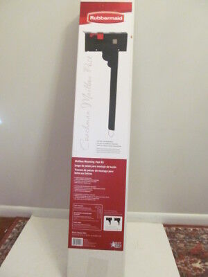 Rubbermaid Coachman Mounting Post Kit for Mailboxes, MB122B - Mailbox Kit