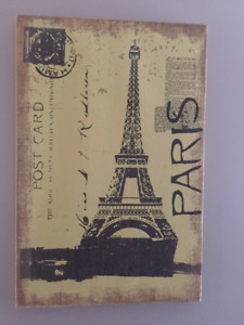 Paris Post Card Wall Picture