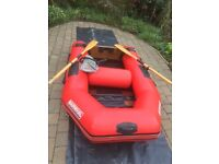 Suzuki motor 4HP four stroke short shaft and Narwall 230 inflatable dinghy