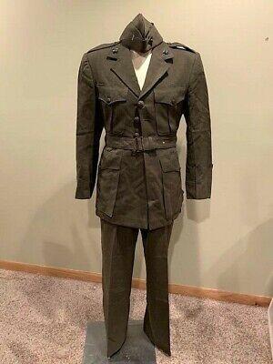 Korean War USMC Officers Dress Green Alpha Uniform