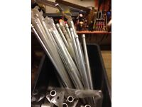 Alloy stanchions