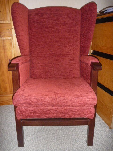 Wingback Fireside Chair in Excellent condition