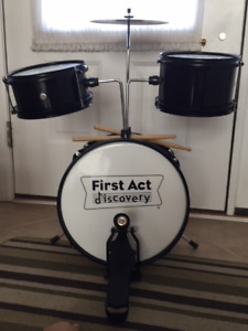 Kids Drum Set-first act discovery