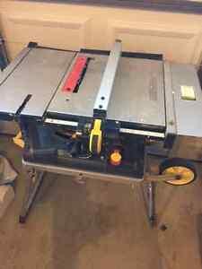 Mastercraft folding tablesaw