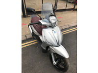 2015 Piaggio Beverly ST 350 Sport Touring in Grey great condition