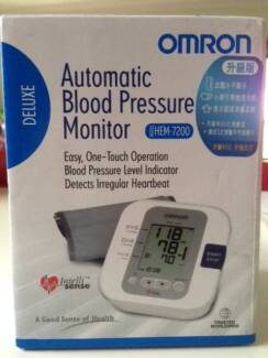 Brand New Omron Hem 7200 Deluxe Automatic Blood Pressure Monitor Footscray Maribyrnong Area Preview