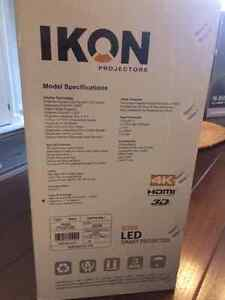Ikon200 LED Projector, 5.1 Home Theatre System, Projector Screen London Ontario image 2