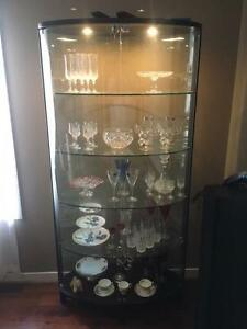Nick Scali China Glass Display Cabinet Langwarrin Frankston Area Preview