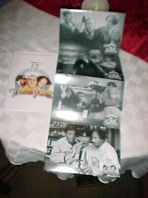 The Three Stooges Booklet & 12 - 5 x 7 Photos