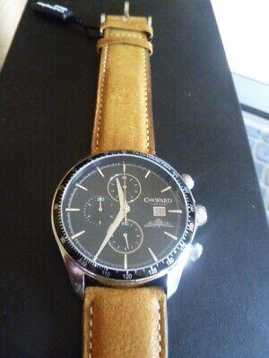 Christopher Ward C7 MK2 Rapide Swiss Chronograph Watch.