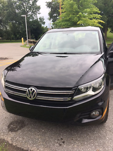 2013 Volkswagen Tiguan Trendline SUV, 4 Motion