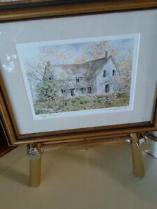 M. R. Sanderson framed print London Ontario image 1