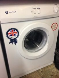 WHITE KNIGHT TUMBLE DRYER, Vented, LIKE NEW