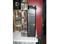 Dvd and CD 9 Disk Copier with hard drive